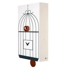 Modern Italian Cuckoo Clock Designer Gifts Idea White