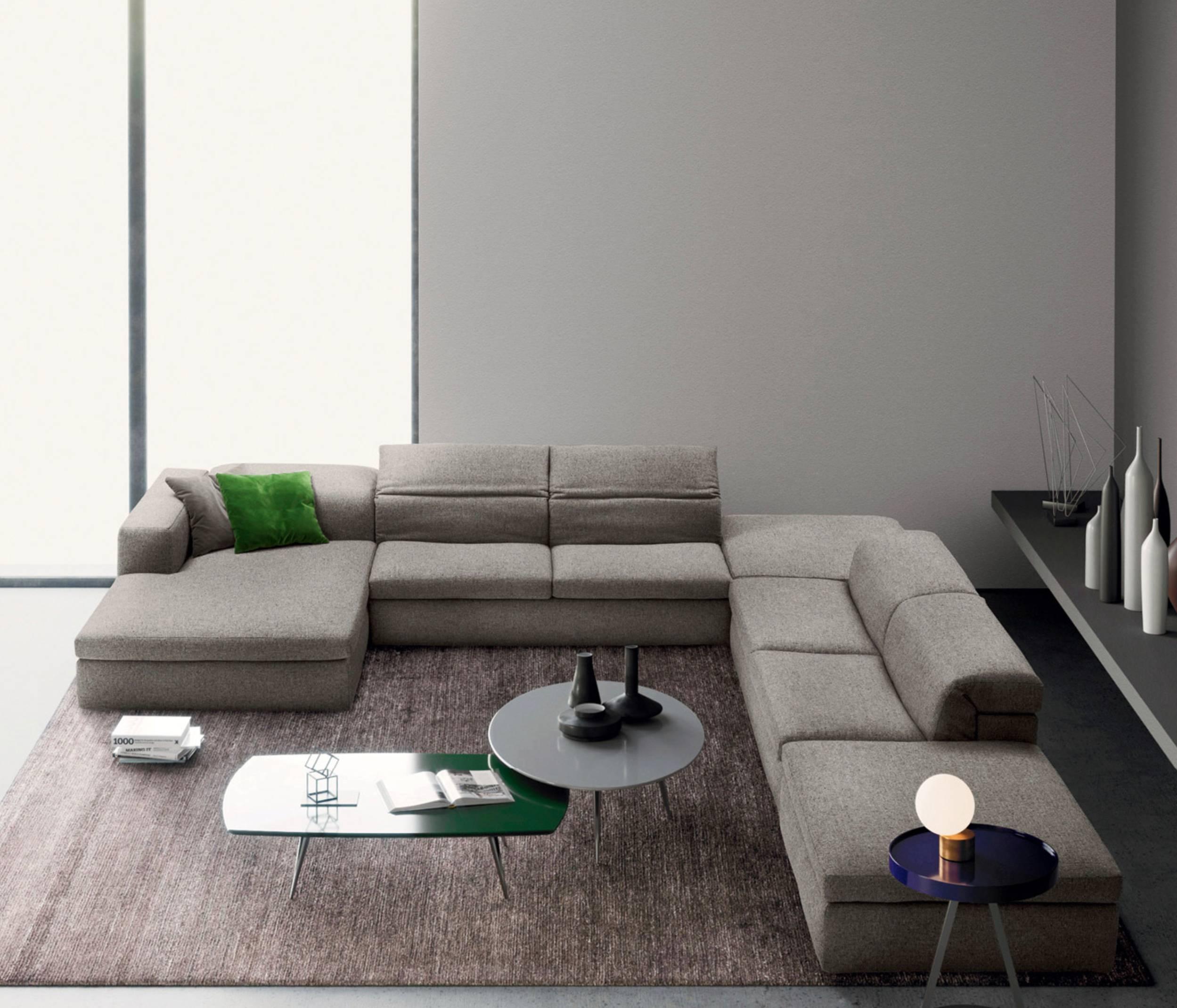 A973 Premium Leather Sofa Set in White