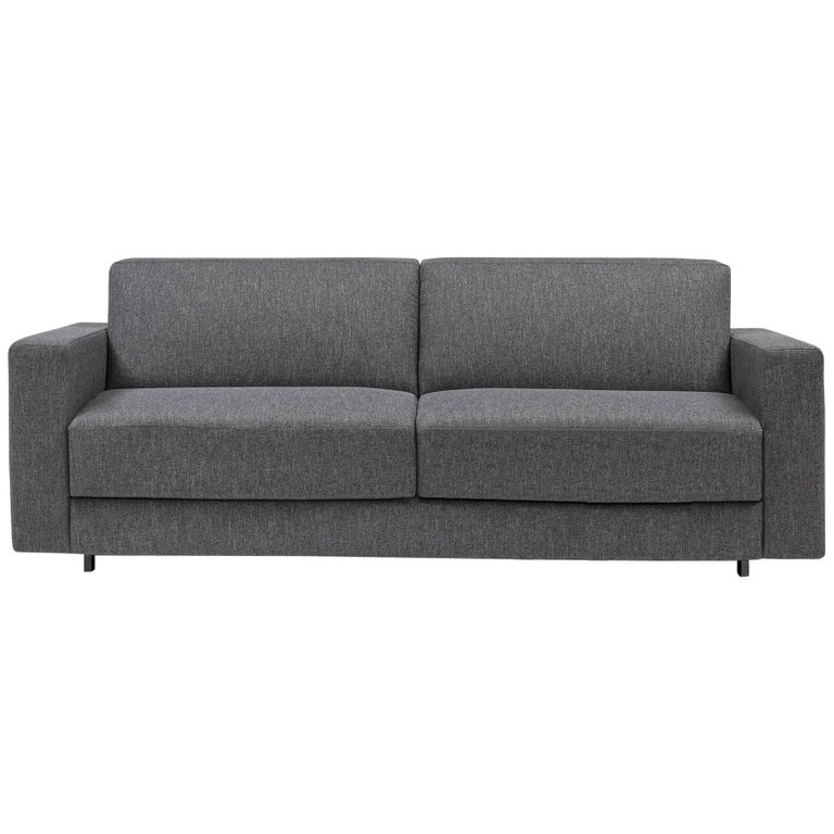 Modern Italian Sofa Bed, Convertible Sleeper Sofa Contemporary Design