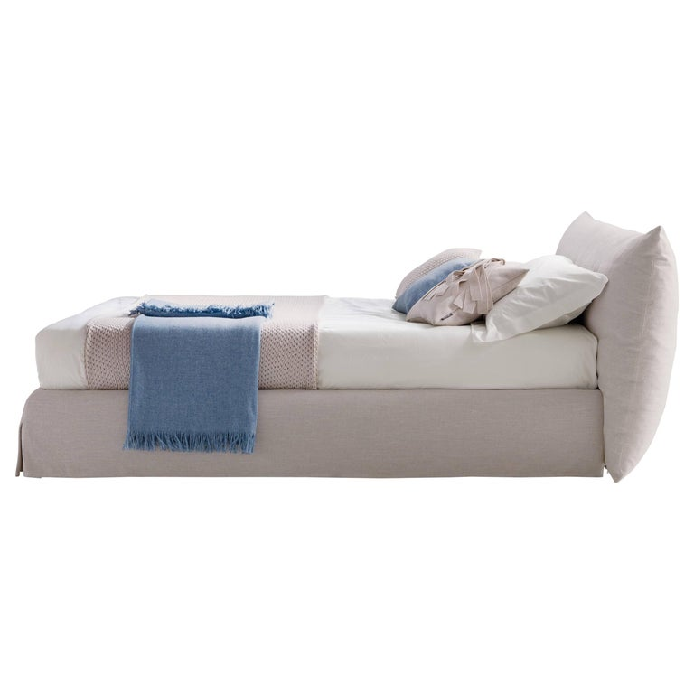 Italian Modern Clouds Bed, Italy, New, Fabric, Italian Bedroom For Sale