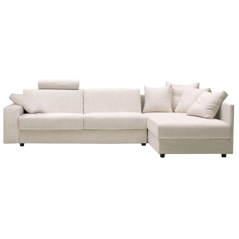 Modern Italian Sofa Bed Sectional Sb41 Fabric New Made In Italy For