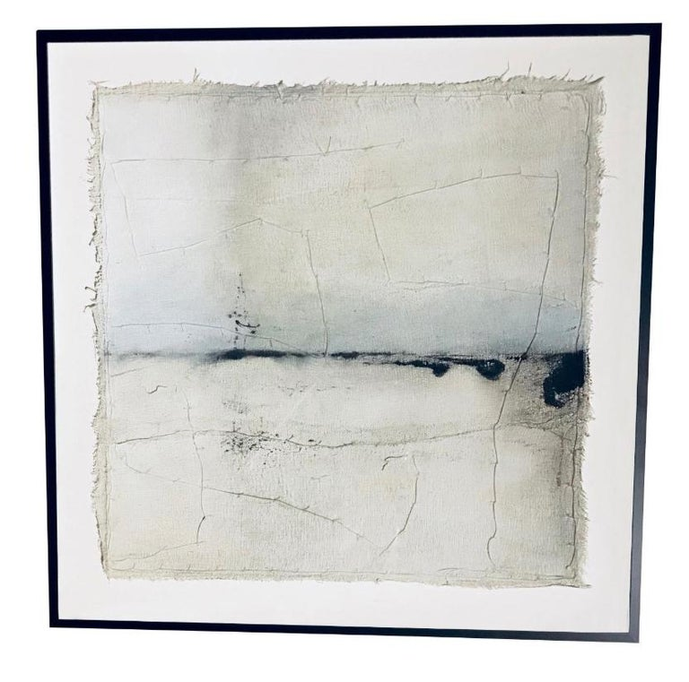 Contemporary Painting by Belgian Artist Diane Petry In Excellent Condition For Sale In New York, NY