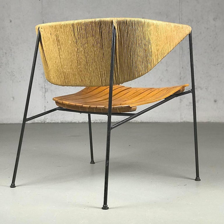 Mid-Century Modern Lounge Chair by Arthur Umanoff for Shaver Howard and Raymor For Sale