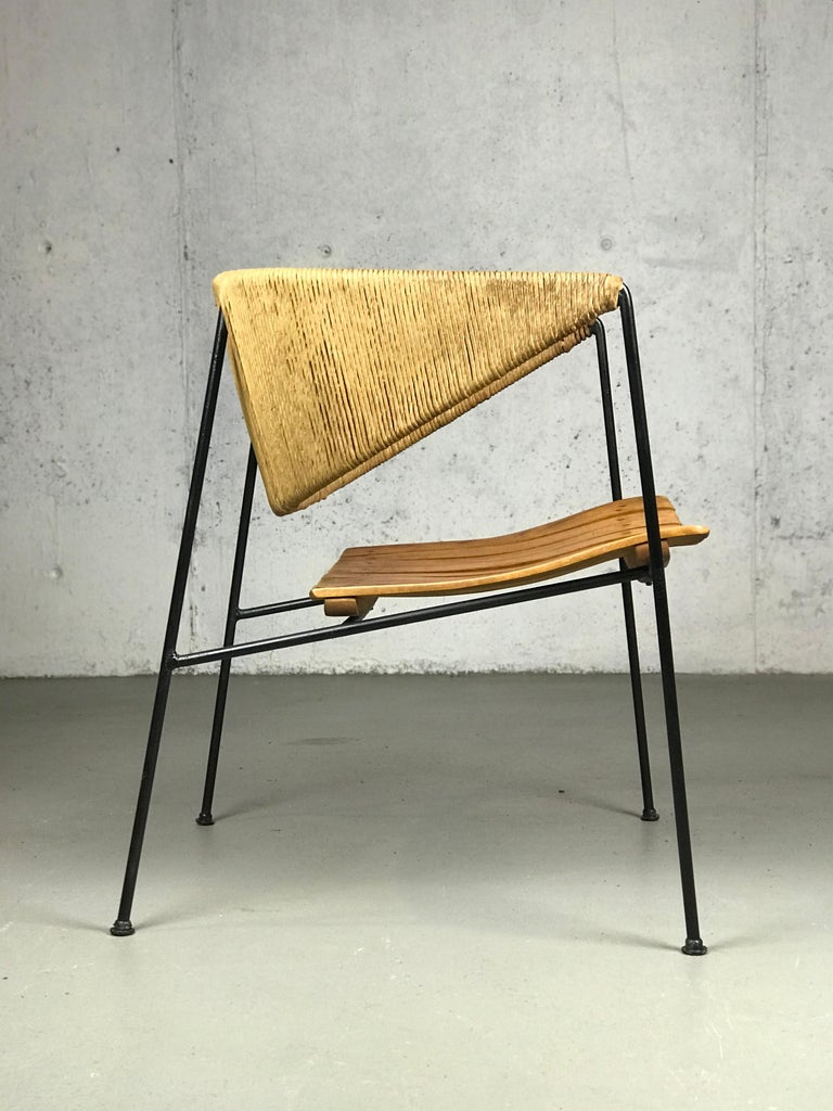 Lounge Chair by Arthur Umanoff for Shaver Howard and Raymor For Sale 1