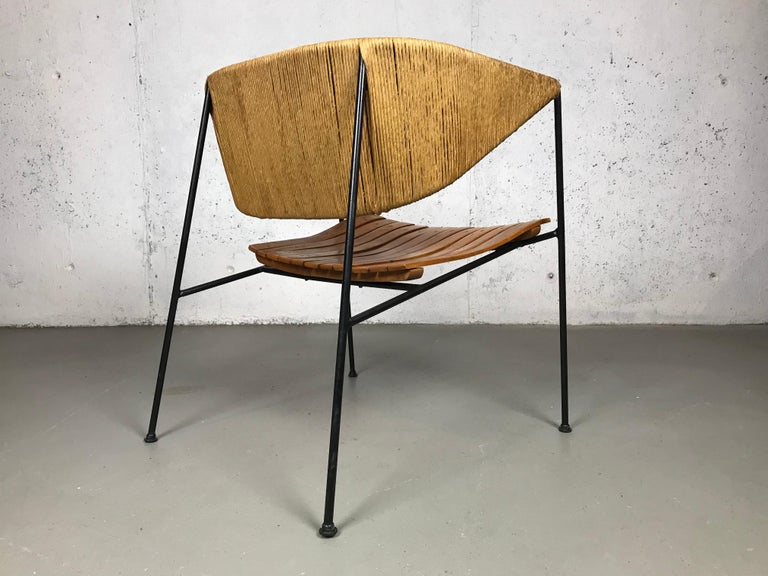 Lounge Chair by Arthur Umanoff for Shaver Howard and Raymor For Sale 5