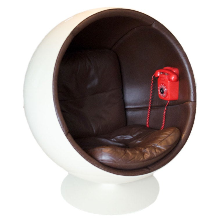extreme rare ball chair by eero aarnio made by asko at 1stdibs. Black Bedroom Furniture Sets. Home Design Ideas