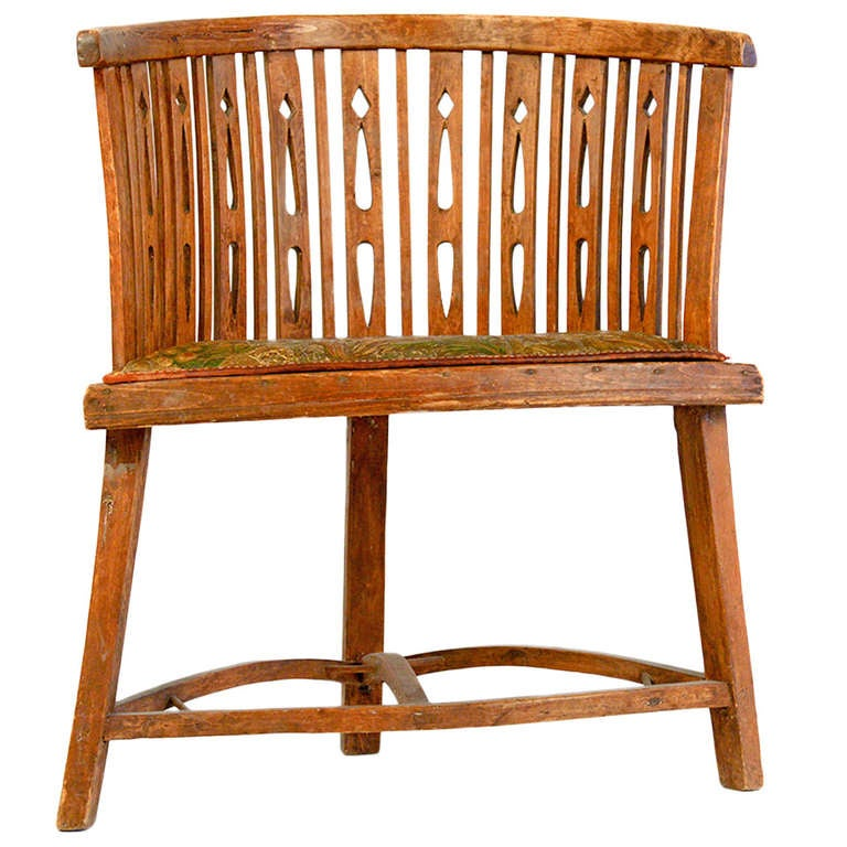 Very cool decorative swedish chair from around 1800 at for Really cool furniture