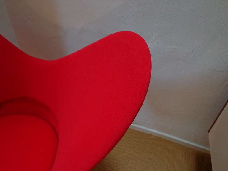 20th Century Heart Cone Chair by Verner Panton, Denmark For Sale