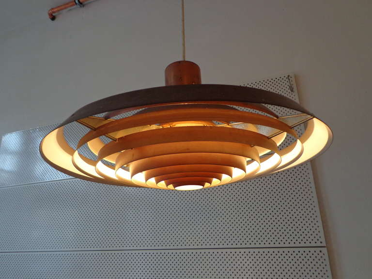Ph Plate Lamp By Poul Henningsen For Louis Poulsen At 1stdibs