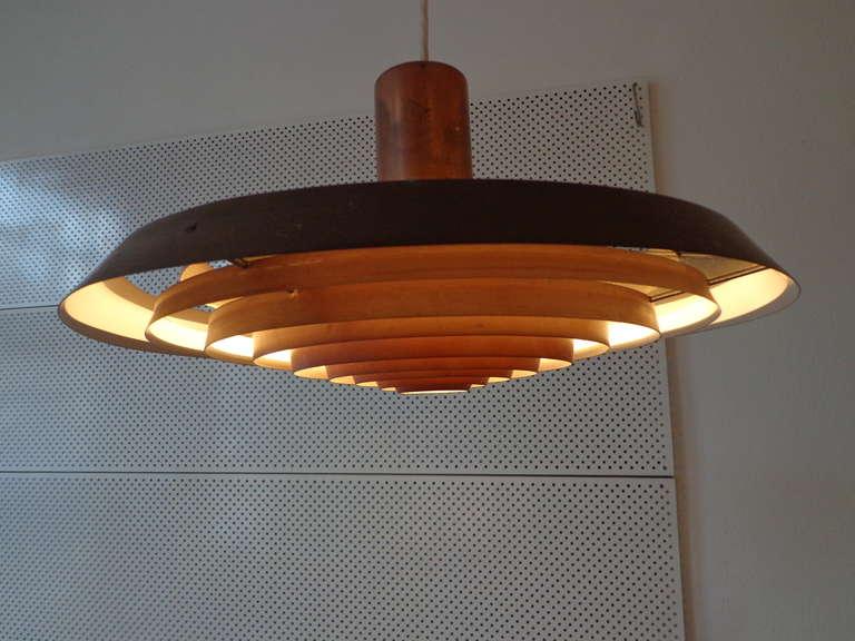 ph plate lamp by poul henningsen for louis poulsen at 1stdibs. Black Bedroom Furniture Sets. Home Design Ideas