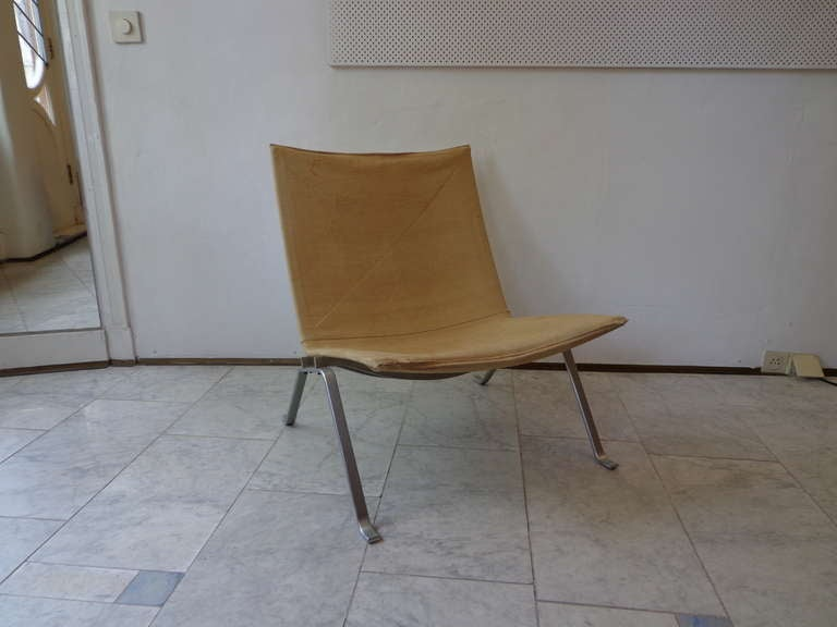 Pk 22 Lounge Chair By Poul Kjaerholm For E Kold