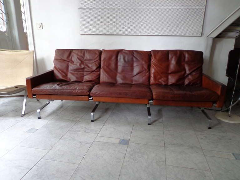 poul kjaerholm furniture. sofa pk 313 by poul kjaerholm for e kold christensen 2 furniture