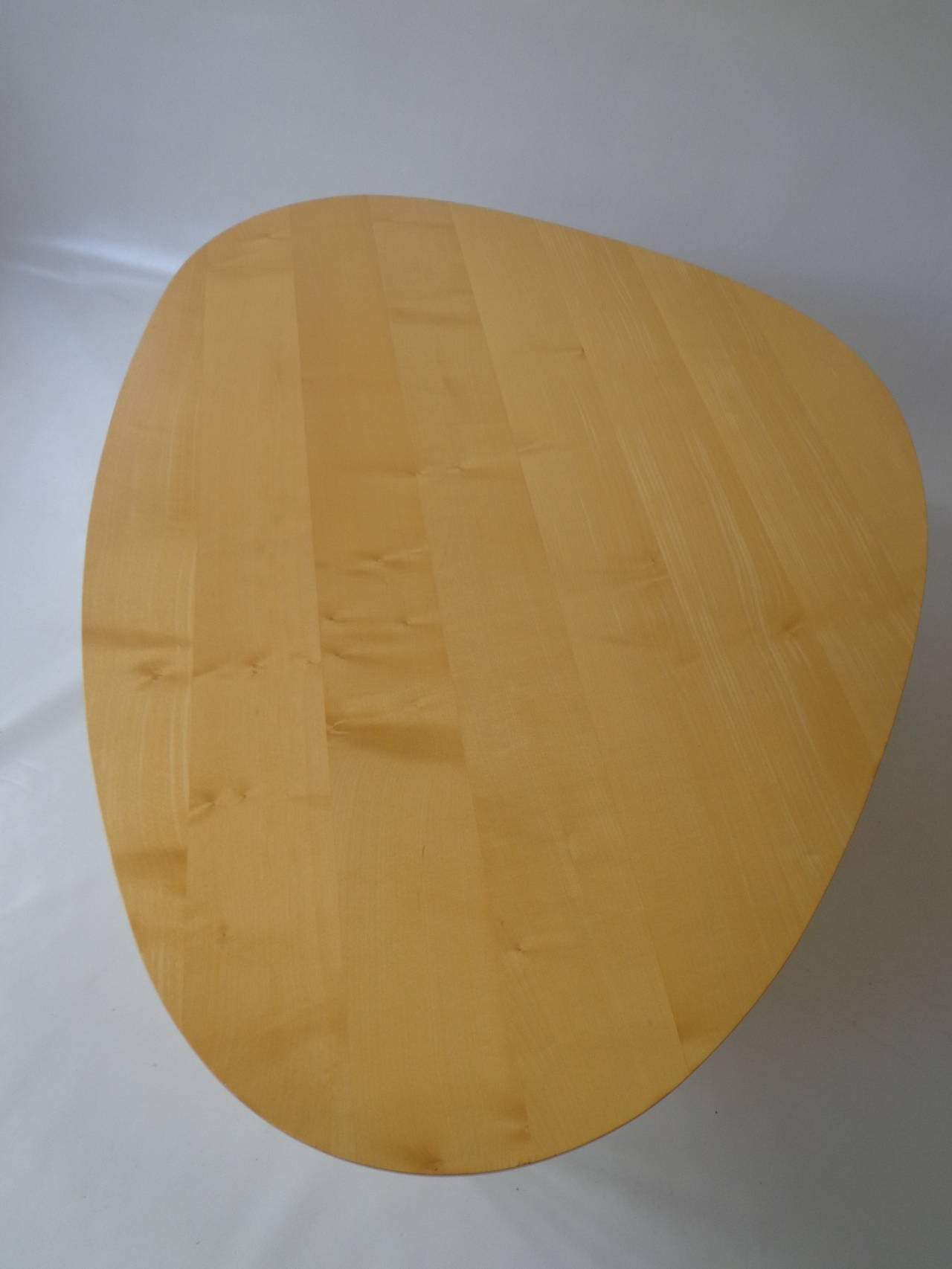 Mid-Century Modern Rudder fin coffee table IN-52 by Isamu Noguchi for Vitra For Sale