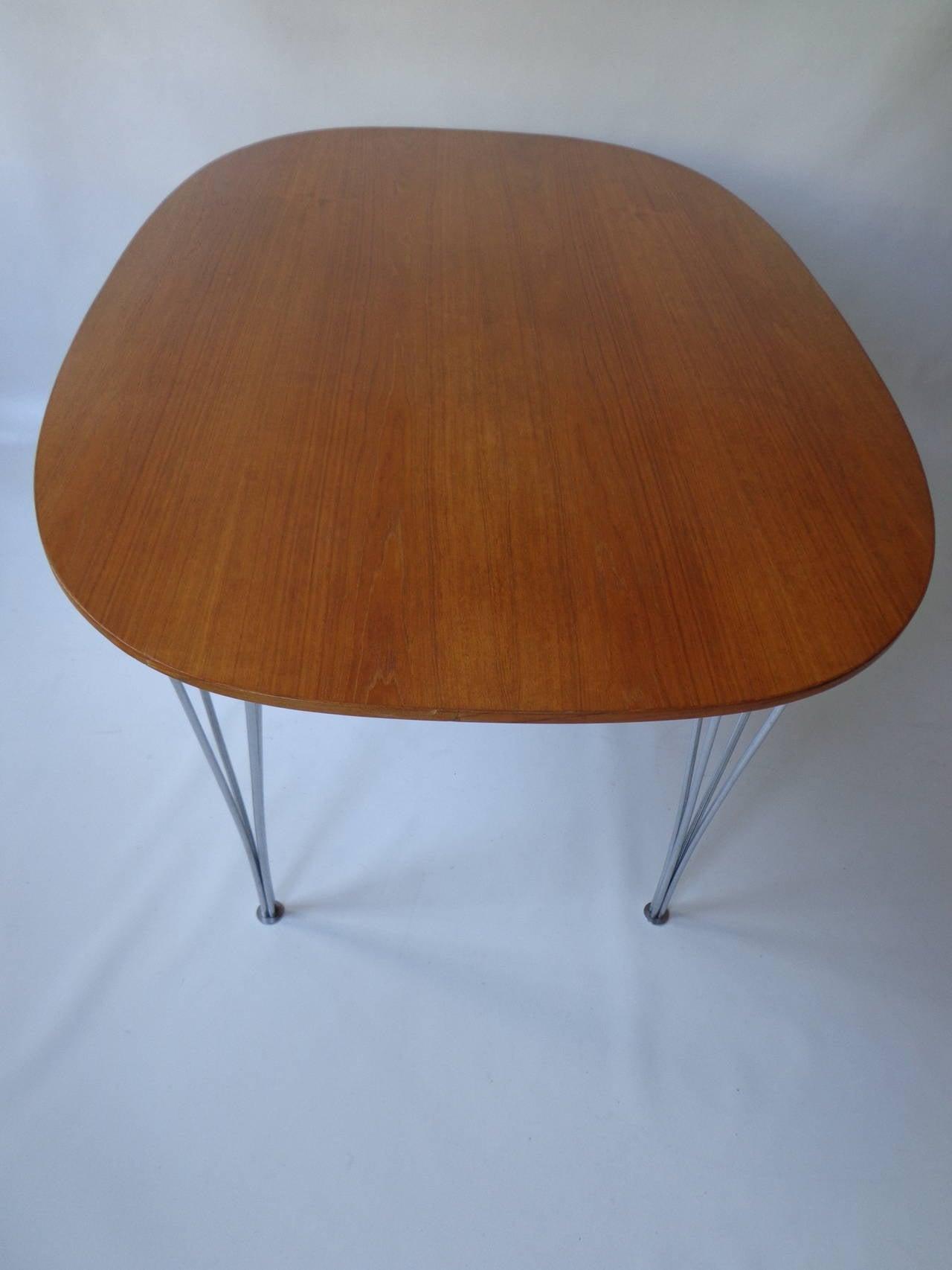 Teak Dining Table By Piet Hein And Bruno Mathsson For