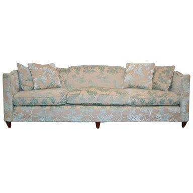 Custom Henredon Sofa at 1stdibs