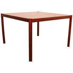 Hans Olsen Teak Coffee Table or End Table, Denmark 1960