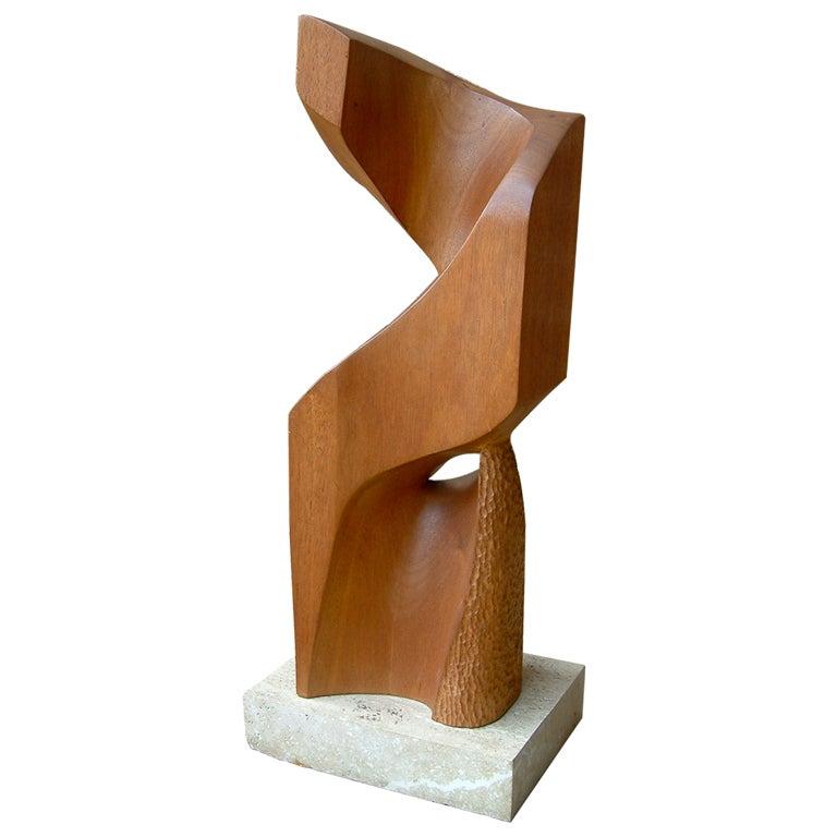 Shirl Tandlich Wood Sculpture At 1stdibs
