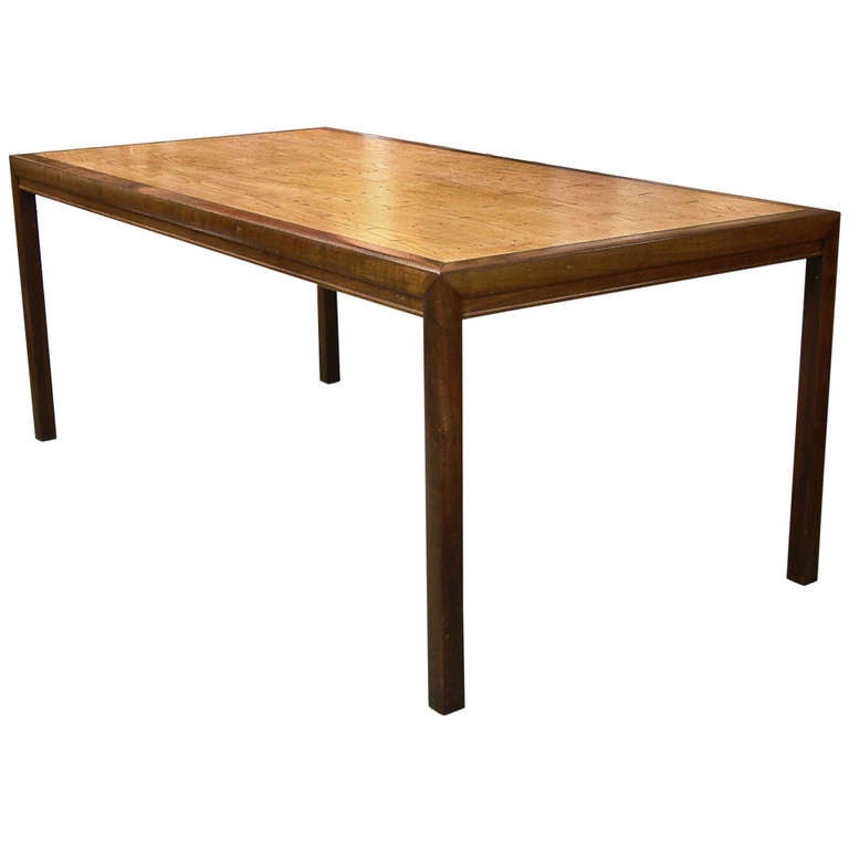 1970s Wormy Chestnut Modern Dining Table at 1stdibs : 898517l from www.1stdibs.com size 768 x 768 jpeg 25kB