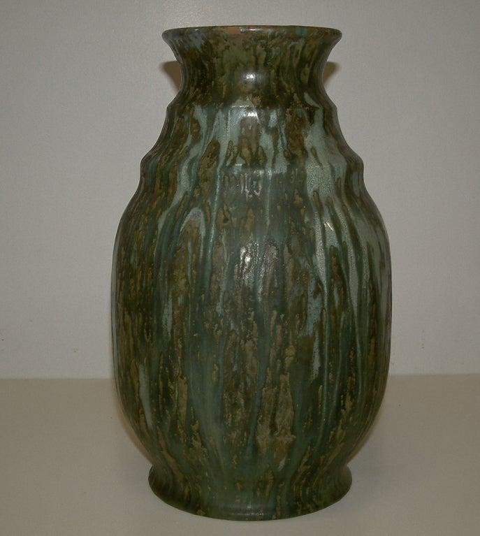 villeroy and boch drip glaze vase at 1stdibs. Black Bedroom Furniture Sets. Home Design Ideas