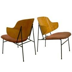 Pair Ib Kofod-Larsen Lounge Chairs