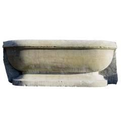 Sandstone basin - Ca 1800