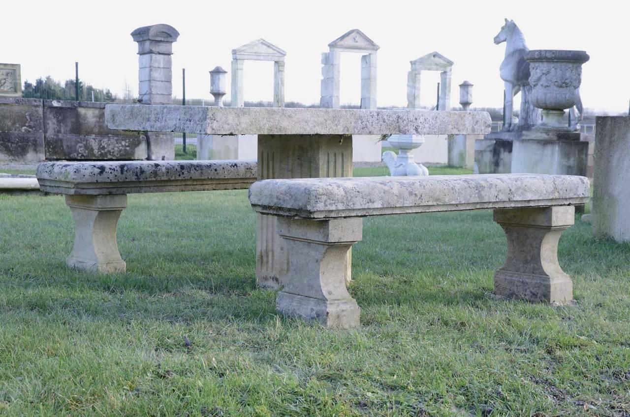 Stone garden table - 20th Century 4