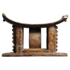 Wood Chair, Ghana, circa 1900