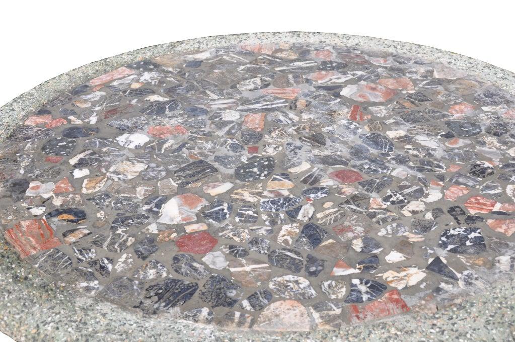 Roman style composite stone guéridon 4