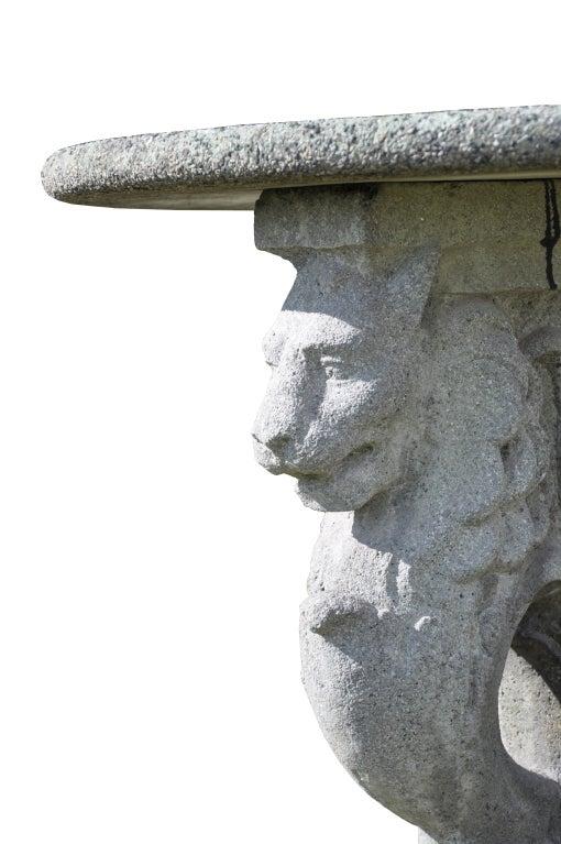 Roman style composite stone guéridon 5