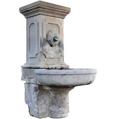 Stone Wall Fountain, 19th Century