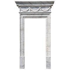 18th century marble doorway