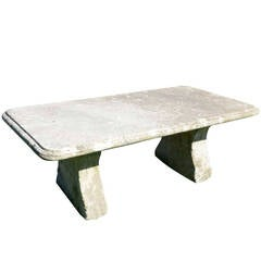 Stone Garden Table, 19th Century