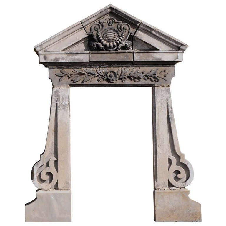 French directoire period stone window frame late 18th for 18th century window