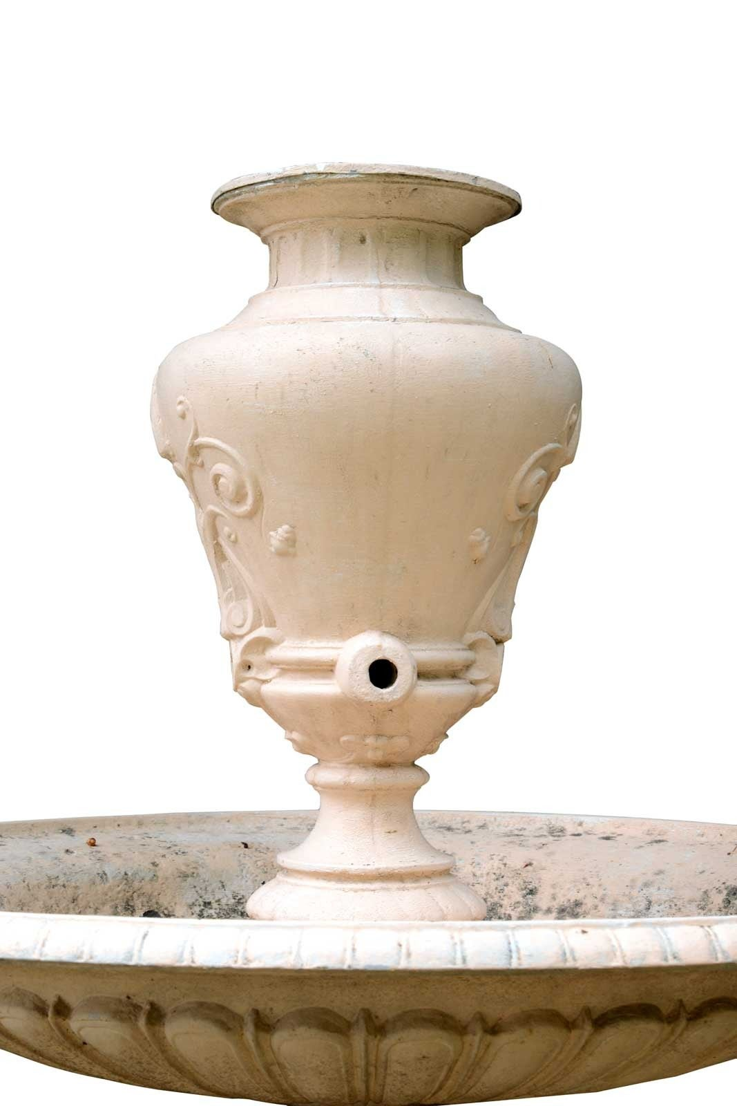 Cast Iron Center Fountain 19th Century For Sale At 1stdibs