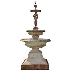 Fountain Center Piece Dated Late 19th Century
