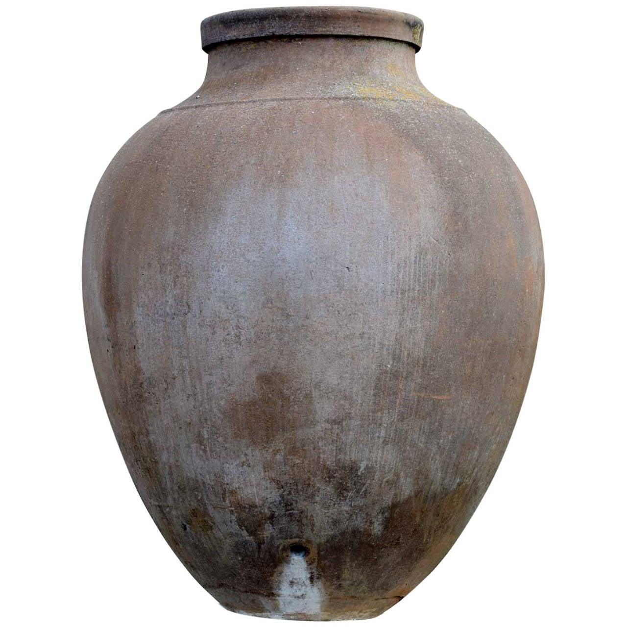Terracotta Olive Oil Jar, 19th Century