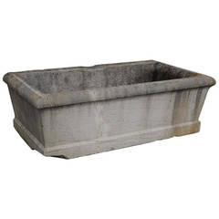 19th Century Stone Tub