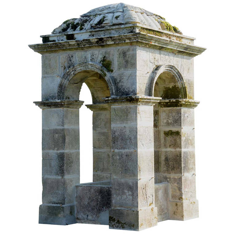 Rare Stone Garden Folly Early 19th Century For Sale at