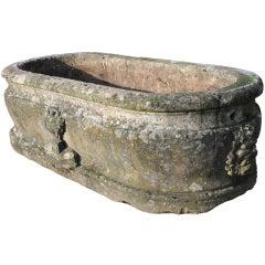 French Renaissance period stone basin
