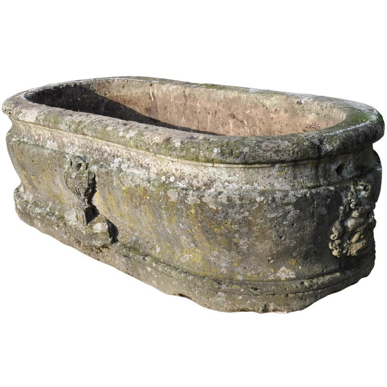 French Renaissance period stone basin