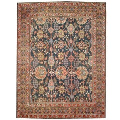 Antique Indian Agra Rug with Modern Traditional Style