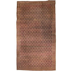 Antique Indian Agra Gallery Rug with Modern Style