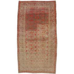 Antique Khotan Area Rug with Pomegranate Design