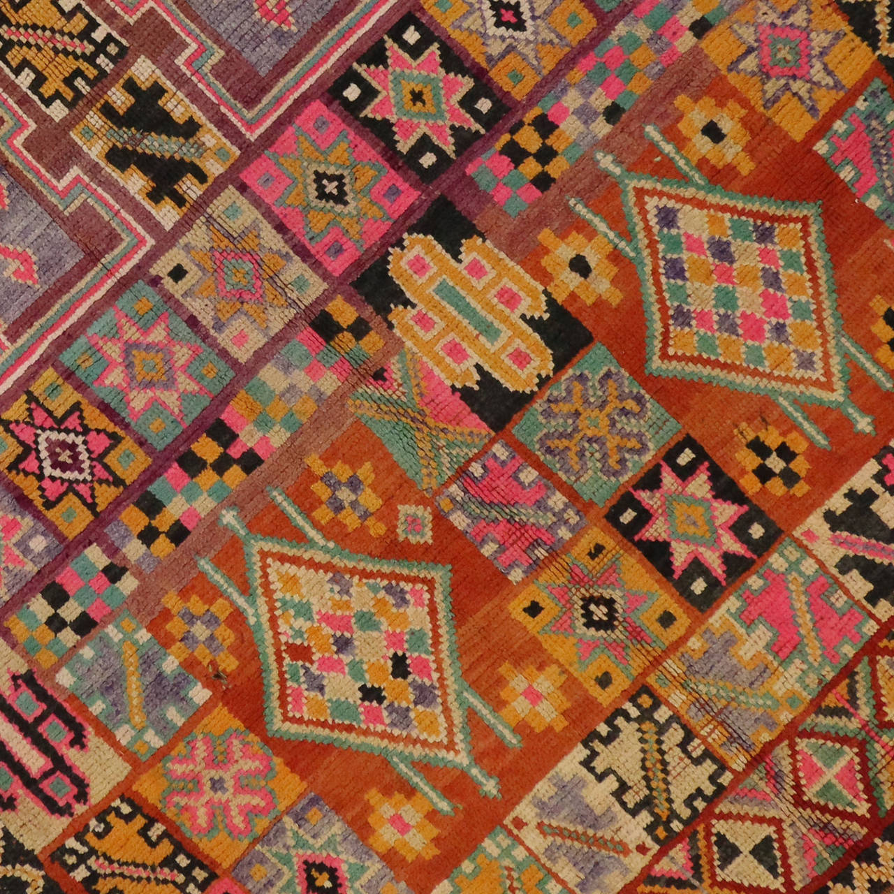 "Maroc Tribal Rug: Vintage Moroccan Tribal Rug, 06'00"" X 12'01"" At 1stdibs"