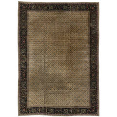 Late 19th Century Antique Indian Agra Rug