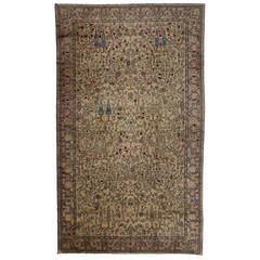Antique Agra Palace Size Rug with Neoclassic Style