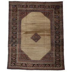 Antique Persian Bakshaish Mansion Rug with Traditional English Estate Style