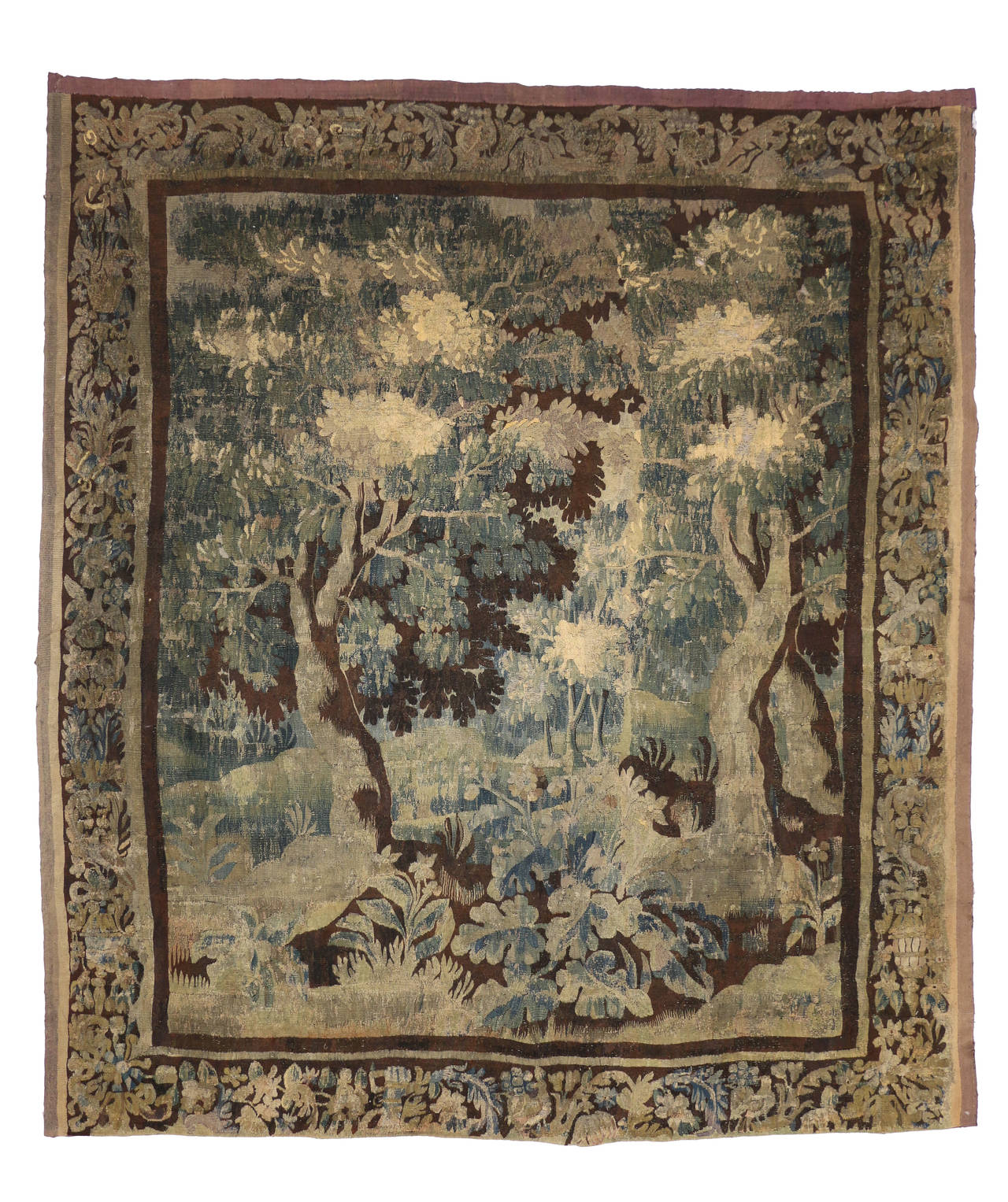 Mid 18th century antique european gobelins tapestry for for The tapestry
