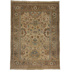 New Persian Sultanabad Rug with Modern Traditional Style