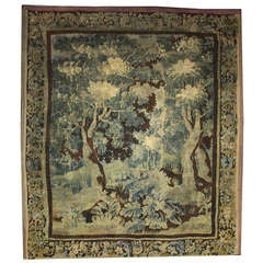 Mid-18th Century Antique European Gobelins Tapestry